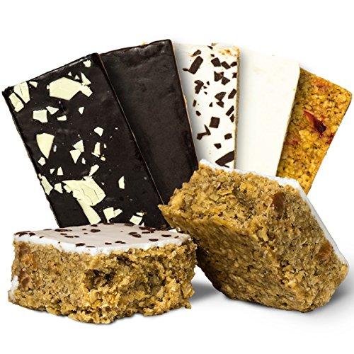 Oat Cake Energieriegel Mix Box - Idealer Energy Weight Gainer und Muskelaufbau Booster oder als Protein Riegel Alternative, der Oatsnack mit Instant Oats zum Abnehmen 24x 125g mre epa