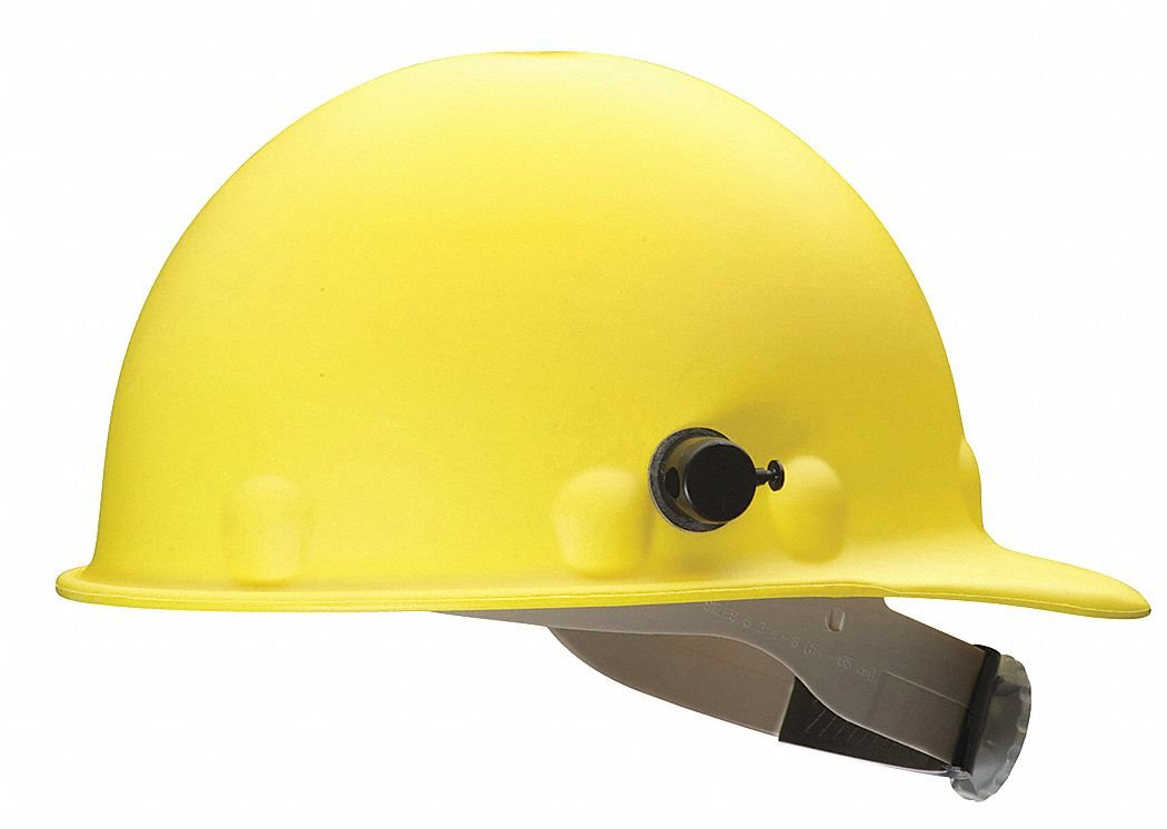 fibre-metal Roughneckイエローファイバーグラスキャップスタイルハード帽子 – 8ポイントサスペンション – ラチェットAdjustment – fibre-metal p2aqrw02 a000 [各あたり価格は] B01LY5IU79