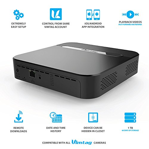 Vimtag S1 Cloud Storage Box 1TB   Compatible With All Vimtag Cameras