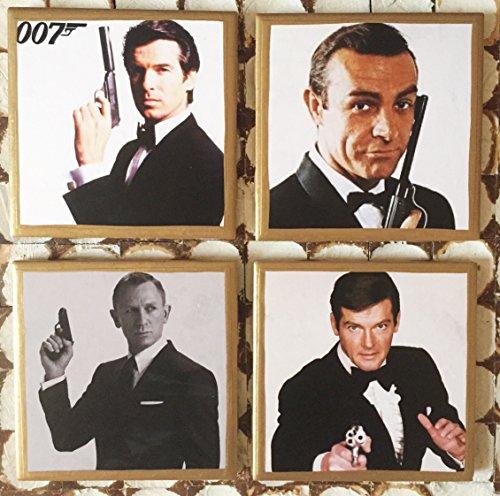 coasters-james-bond-007-coasters-with-gold-trim