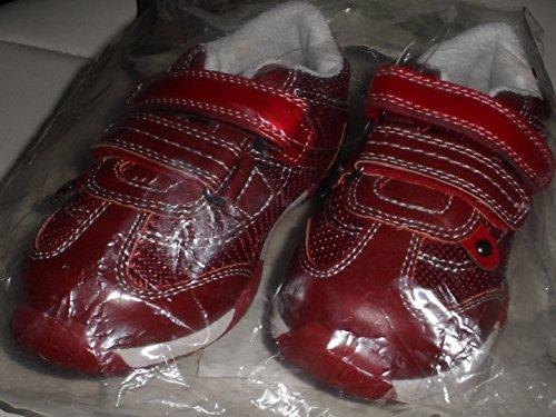 Kinder Sneaker Schuhe Halbschuhe Gr. 25 weinrot
