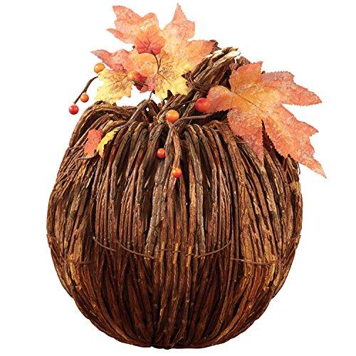 DII Large Twig Pumpkin - Pumpkin Twig