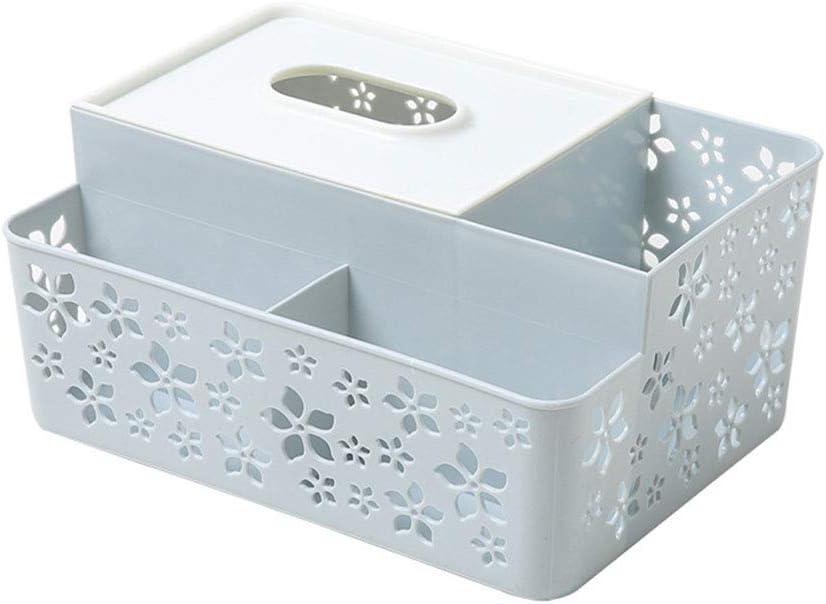 Ramingt-Home Boîte à mouchoirs Cuadro de Tejido Caja de pañuelos Cubierta Inicio Inicio Sala Bandeja de Cocina (Color : Gris): Amazon.es: Hogar