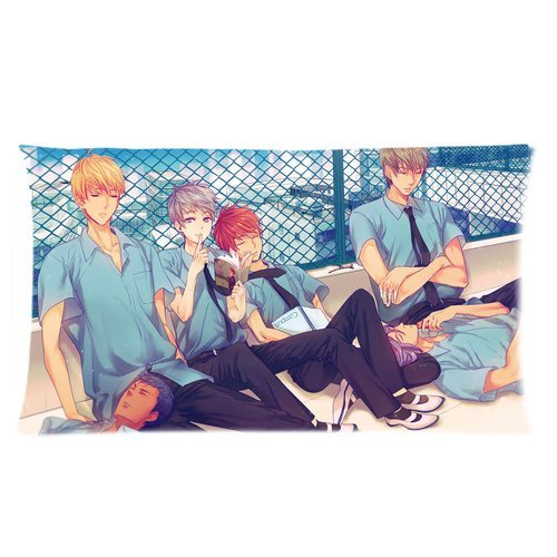 Stylish Design Blood anime Kuroko no Basket Cool Picture For Boys personalized pillowcase hotsale for Children 20x36 Two sides-5