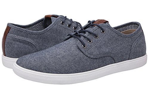 Globalwin Mens 1802 Blue Grey Casual Fashion Sneakers Size 10.5