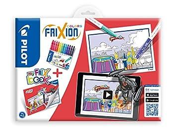 Coloriage Flash Macuine Gratuit.Pilot Frixion Colors Feutre Cahier De Coloriage Set