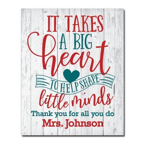 Personalized Teacher Gift | End of Year Gift | Classroom Art | Gift for Teacher | Classroom Decor | Teacher Appreciation | Classroom Rules | Teacher Gift | Unframed Poster Print (Decor Classroom Teacher)
