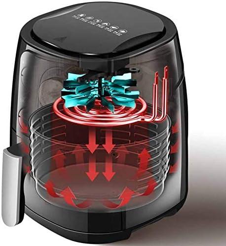Demo Fryer air avec de l'air Rapide Circulation système, en utilisant la Technologie VORTX, Tour Fryer, avec 30 Minutes minuterie, température réglable à 5,5 litres