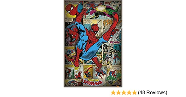 FREE P+P CHOOSE YOUR SIZE! Comic Book Hero SPIDERMAN Poster Quality Large