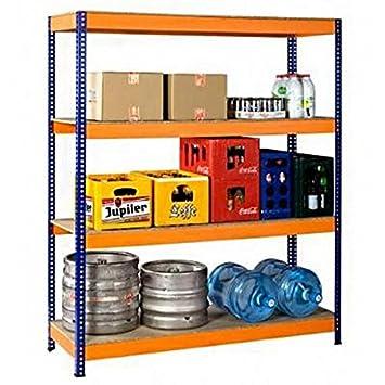 Cool Regal für Lager, Keller, Werkstatt, Garage, Fachbodenregal  GR69