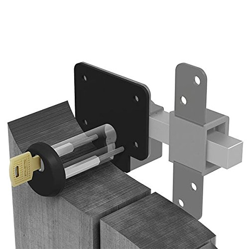 Gatemate 149003C Security Escutcheon P11 Lock, Epoxy Black BJA Trading t/a Birkdale Sales