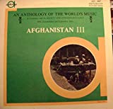 An Anthology Of The World's Music: Afghanistan III. The Music Of The TadjiksLP