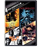4 Film Favorites: Urban Life (ATL, New Jack City, Set It Off: Deluxe Edition, Menace II Society: Deluxe Edition)