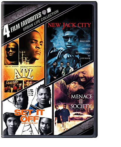 4 Film Favorites: Urban Life (ATL, New Jack City, Set It Off: Deluxe Edition, Menace II Society: Deluxe Edition) (Movie Atl Dvd)