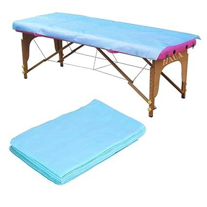 10 piezas 180 * 80cm no tejidas desechables sábanas a prueba de agua masaje belleza cubierta