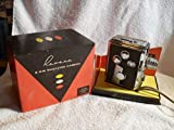 RARE 1950'S REVERE 8mm MODEL 44 VINTAGE MOVIE CAMERA UNTESTED WITH BOX