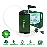 SHAN ZU Water Purifier with Advanced Filtration System Outdoor Hiking Portable Explorer Equipment Water Filter