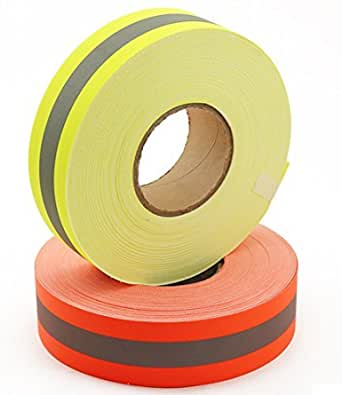 Amazon.com: Reflective Tape Heat & Fire Retardant with High Visibility  Fluorescent - Firefighter Safety Use (1m / 39 inches, Yellow): Home  Improvement