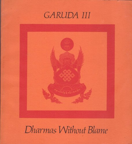 Garuda 3 : Dharmas Without Blame