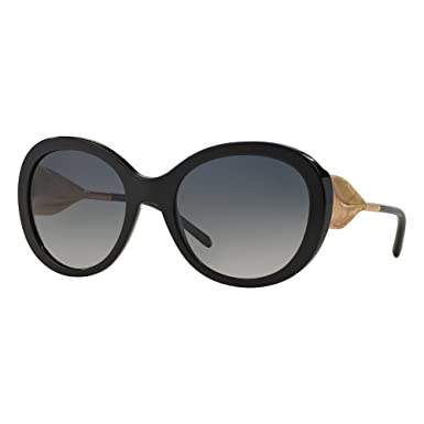 eb24b0e9a1eb Image Unavailable. Image not available for. Color: Burberry Women's BE4191  Sunglasses Black/Polar Grey Gradient 57mm