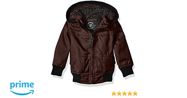 35f6f9142 Amazon.com: Urban Republic Baby Boys' Infant Basllistic Bomber Jacket with Sherpa  Lining, Fig, 18 Months: Clothing