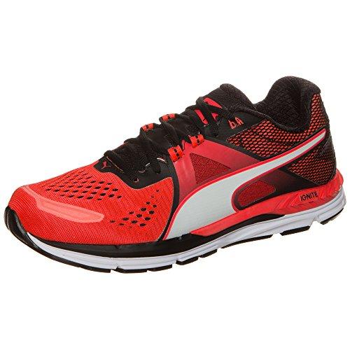 Puma Speed 600 Ignite, Zapatillas de Deporte Unisex para Adulto rojo neón/ negro