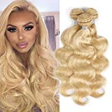 Best Hair Weave Blonde 3 Bundles - 613 Blonde Bundles Human Hair Body Wave Weft Review