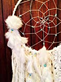 Large White Dream Catcher / Wall Hanging