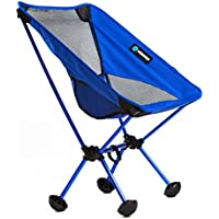 Wildhorn Outfitters Terralite Portable Camp Beach Chair Perfect (Blue)
