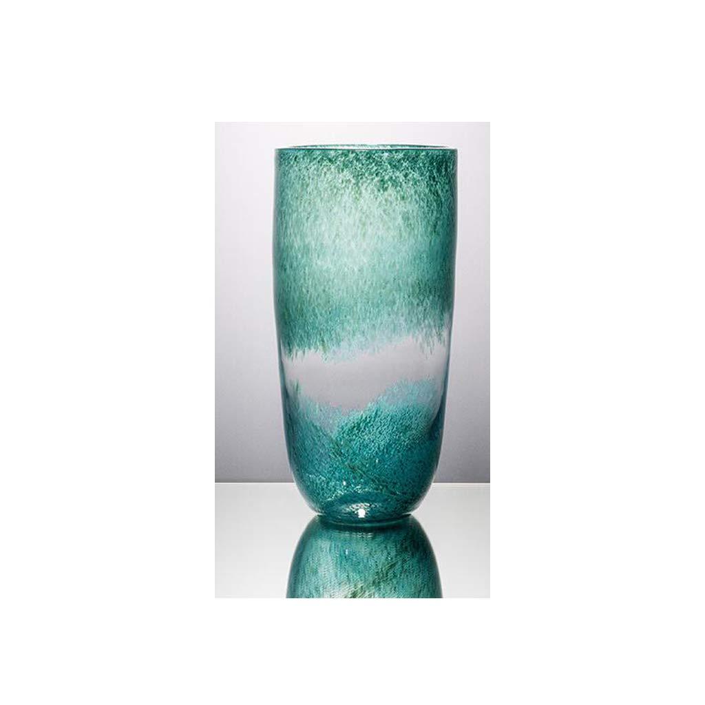ガラス花瓶リビングルームドライフラワー花瓶透明色洗浄花瓶 SHWSM (サイズ さいず : 30cm×15cm) B07RXRTJ8Z  30cm×15cm