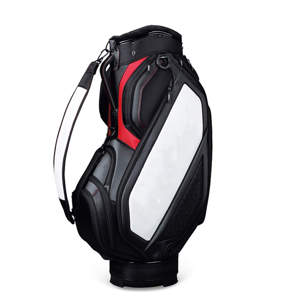 NTWXY Golf Club Bag, Lightweight and Portable, Waterproof Material, Black