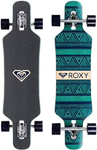 Roxy Free Longboard Skateboard - Black