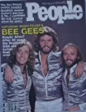 The Bee Gees Cover People Weekly Magazine Feb.6 1978