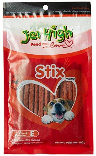 JerHigh Stix Dog Treats, 100 g
