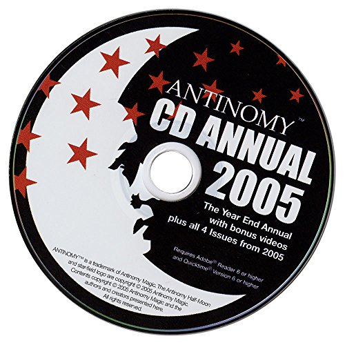 Murphy's Magic CD Antinomy Annual Year 1 2005 DVD