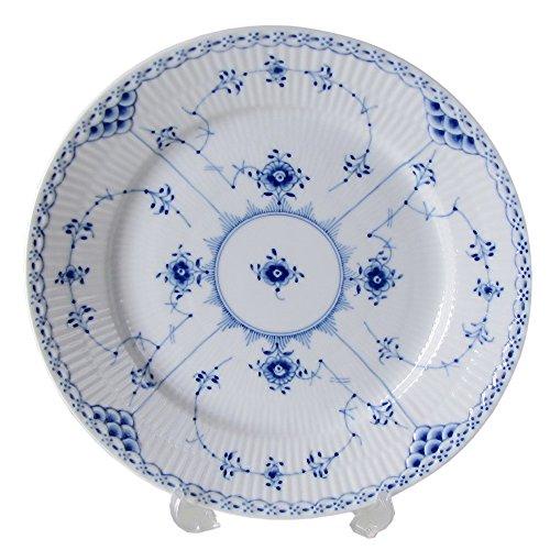 Royal Copenhagen Blue Fluted Half Lace Salad/Dessert Plate