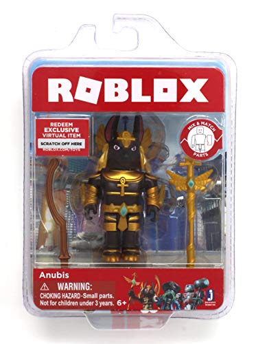 Roblox Anubis Single Figure Core Pack with Exclusive Virtual Item -