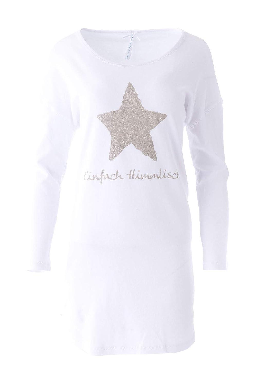 """L XL NEU LOUIS /& LOUISA /"""" Einfach Himmlisch /"""" Pyjama Sterne allover Gr"""