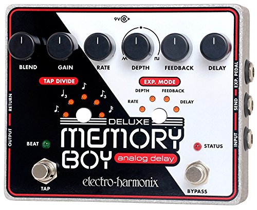 - Electro-Harmonix Deluxe Memory Boy Delay Guitar Effects Pedal