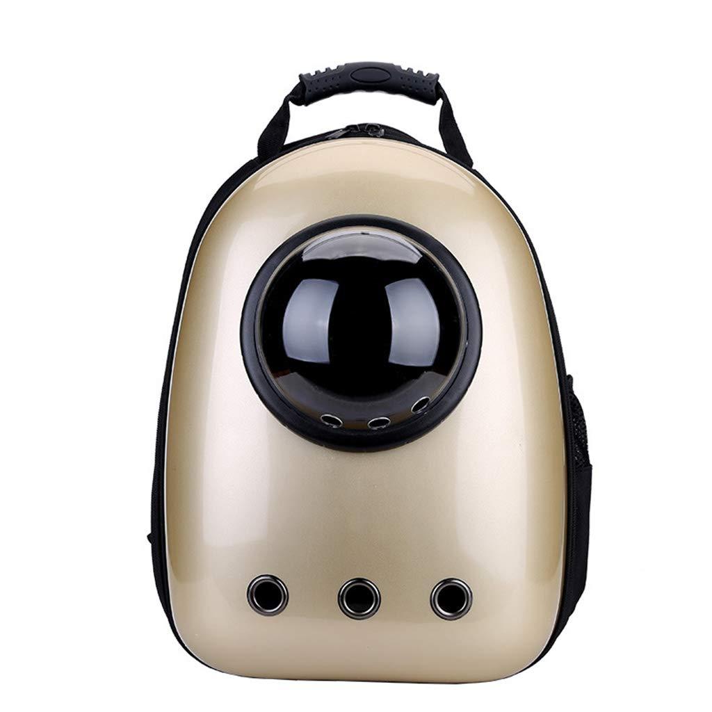 Kofun ペットキャリア バックパック 犬 猫 ペット 宇宙飛行士 カプセル バックパック キャリア 通気性 ポータブル 旅行 スペースバッグ イエロー Kofun  シャンパン(Chartreuse) B07NKS8TJ3