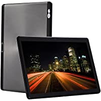 4G LTE Fire Tablet 10 Inch Android 7.0 OS Octa Core 4GB+64GB 1920x1200 HD IPS Screen Phone Call 10.1 Tablets PC 9 Wifi Bluetooth GPS Support Google store-Gray
