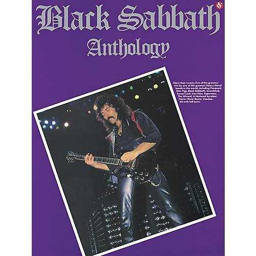 Black Sabbath Anthology Guitar Tab (Book) Pack of 2