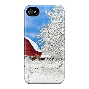 New GRW24136YGLV A Lovely Winter Day Skin Cases Covers Shatterproof Cases For Iphone 6