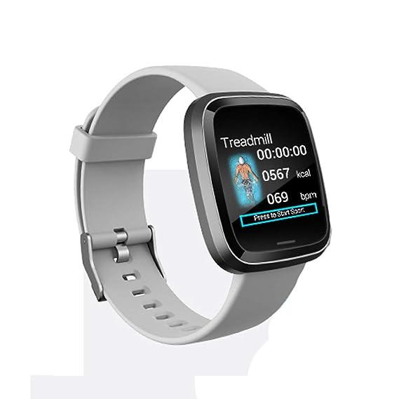 CAOQAO Reloj Inteligente Hombre Monitorización de la presión ...