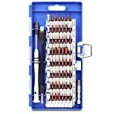 KeeKit Screwdriver Set, 60 in 1 Magnetic Screwdriver Set, Professional Repair Tool Kit, S2 Steel Precision Screwdriver with Flexible Shaft for iPhone, Tablet, Smartphone, Game Console, MacBook, PC