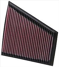 K&N 33-2830 Filtro de Aire Coche, Lavable y Reutilizable
