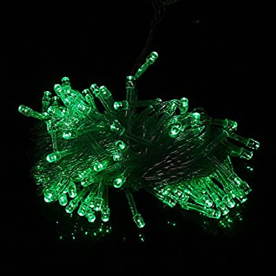 1 X 100 LED 10m String Decoration Light for Christmas Party Wedding 110V (green)Ships from CA