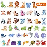 Baobë Magnetic Animals,Refrigerator Magnets for Kids,42 Pieces,Animals Fridge Magnet,Kids Educational Toys
