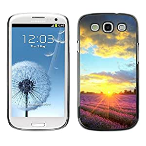 LASTONE PHONE CASE / Carcasa Funda Prima Delgada SLIM Casa Carcasa Funda Case Bandera Cover Armor Shell para Samsung Galaxy S3 I9300 / Sunset Beautiful Nature 90