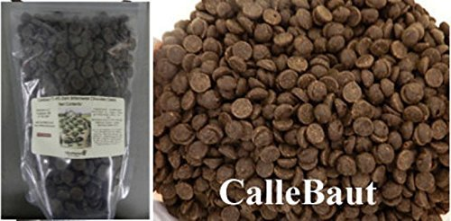 Callebaut 7030 70.4% Dark Bittersweet Chocolate Callets 1 lb by Callebaut